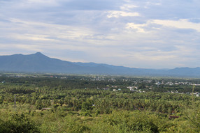 View towards Sirumalai