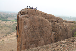Treckkers on Twin Rocks