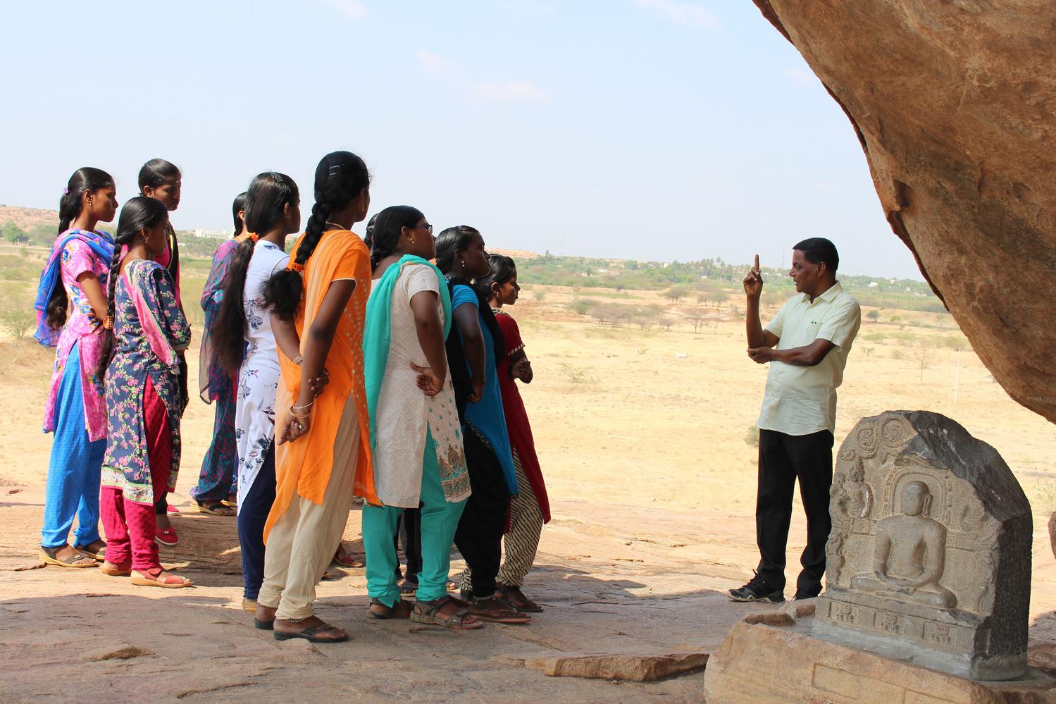 Explantation by Fr. S. Emmanuel on jain presence in Madurai