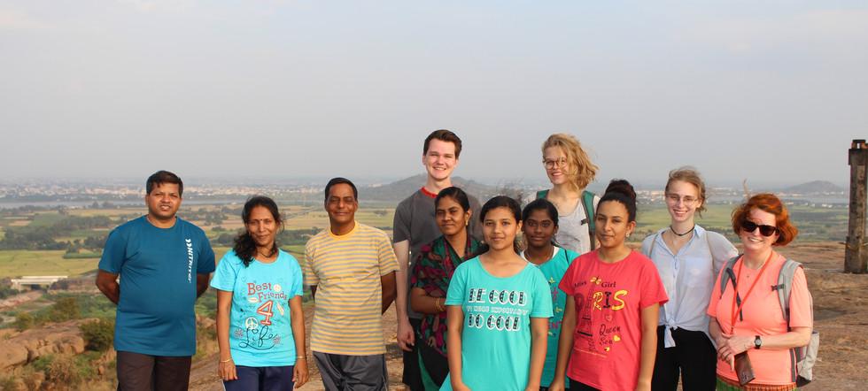 On the peak of Jain Hills