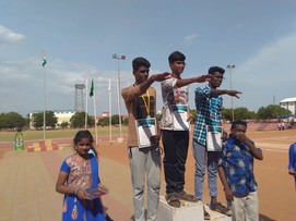 Zonal sports meet at Race Course, Madurai