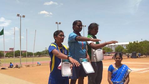 S. Jayavani - 12th std - 1st prize in Ja