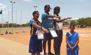 Zonal sports meet at Race Course, Madurai