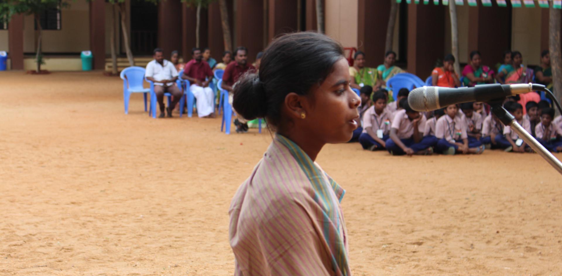 As Freedom Fighter Ambujadambal