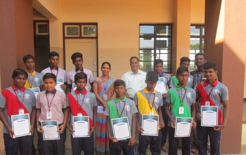 Kabadi under 17 - runners
