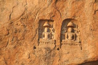 Bas Relief - 600 A.D - Perumal Malai