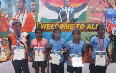 Winners of Athletics