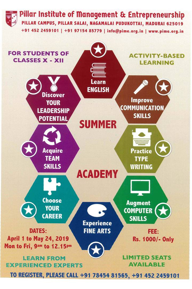 Summer Academy Program