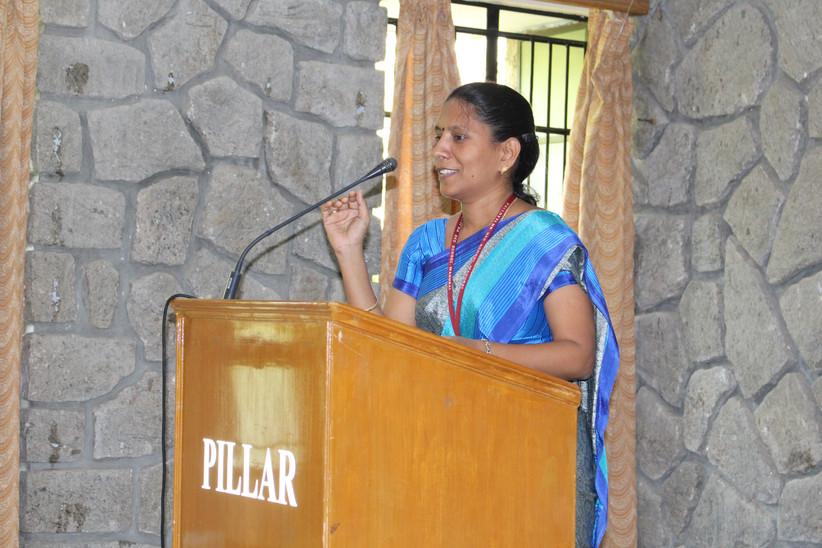 Ms. G. Kamatchi, Prinicpal , Pallotti Higher Secondary School