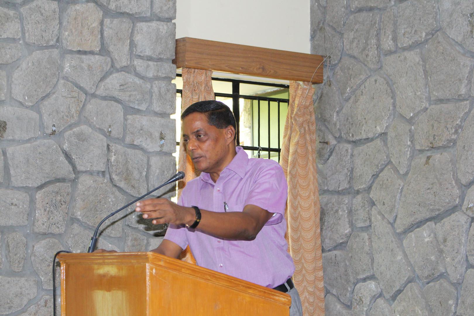 Fr. S. Emmanuel - PILLAR Director