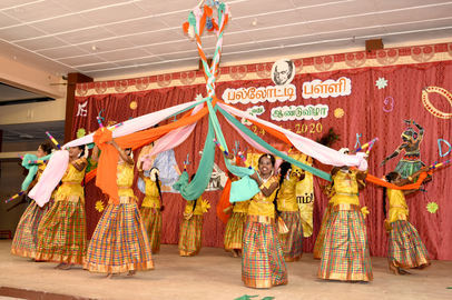 Our rural students performing top class folk dances