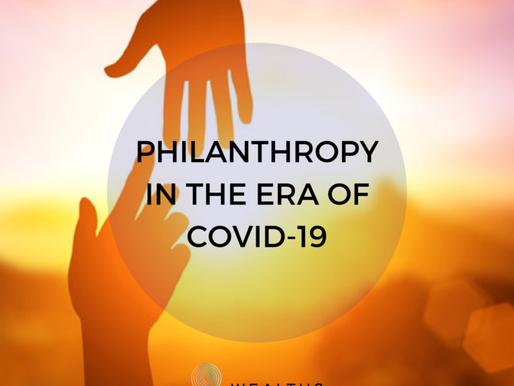 Philanthropy in the Covid Era