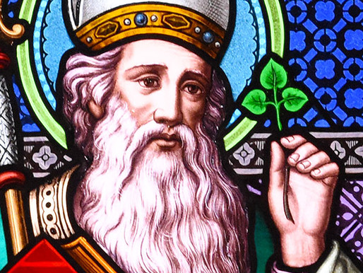 Shamrocks, water, and other ways to not think about the trinity