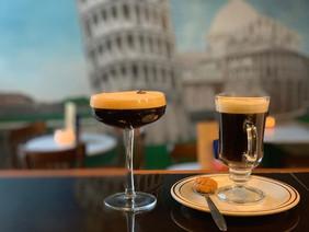 How do you prefer your coffee, in an Espresso Martini or in an Irish Coffee?