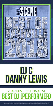 DJ C Danny Lewis 2018 Best Of Nashville