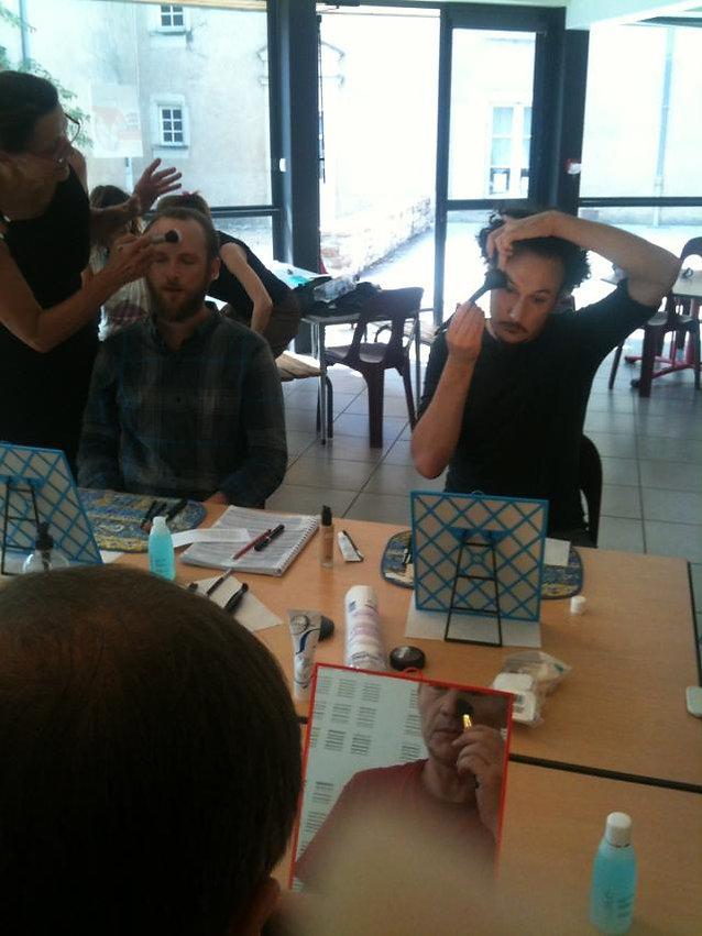 Acad 2014 - Cours de maquillage