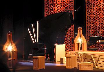 Carmen de Bizet - Mise enscène : Karine Lale - Décors : Emilie Roy