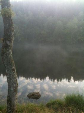 Faux la Montagne - le lac