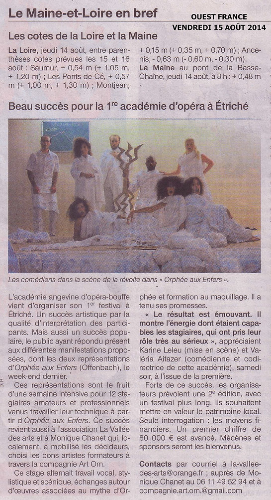 Ouest France 2014
