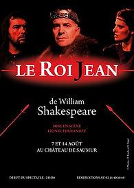 Le Roi Jean de Schakespeare - Mise enscène : Lionel Fernandez - Cie Art Om