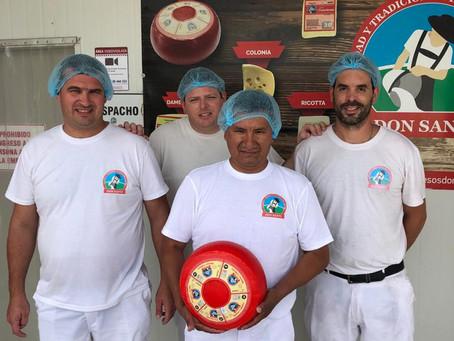 Productor de Perú realiza pasantía en Don Santi