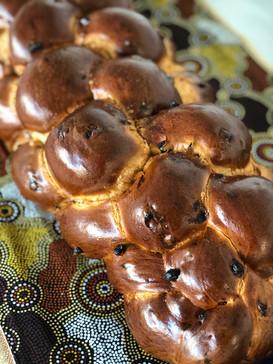 Challah with Raisins