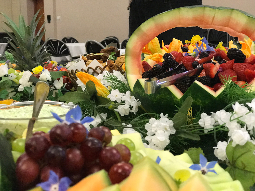 Fruit Catering Dishes