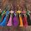 Thumbnail: Tua treo trang trí đàn với đủ các màu sắc kết hợp ngọc cẩm thạch sang trọng