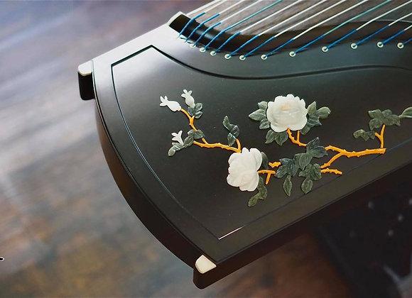 Guzheng (cổ tranh) fullsize 1m63 loại cao cấp hoa chạm nổi