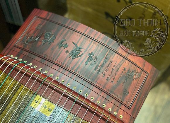 Guzheng ( cổ tranh) full size 1m63 hoạ tiết chạm khắc