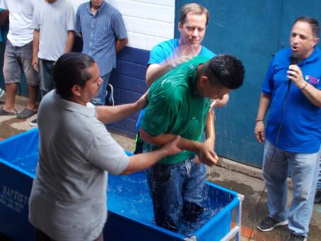 Boys Baptized Behind Bars