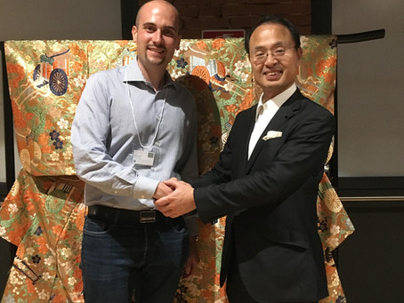 Incontro con il Sindaco di Kanazawa Yukiyoshi Yamano