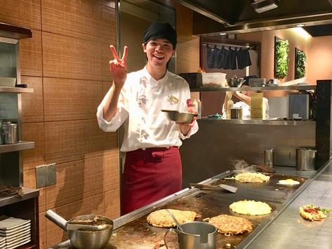 Okonomiyaki, la frittata giapponese.