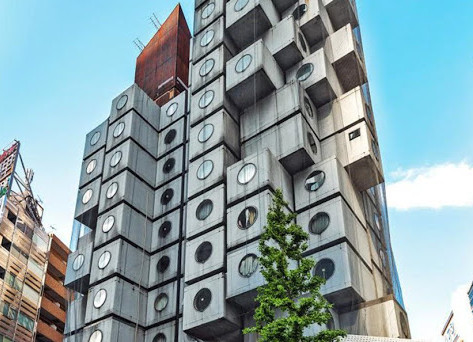 NAKAGING CAPSULE TOWER – TOKYO
