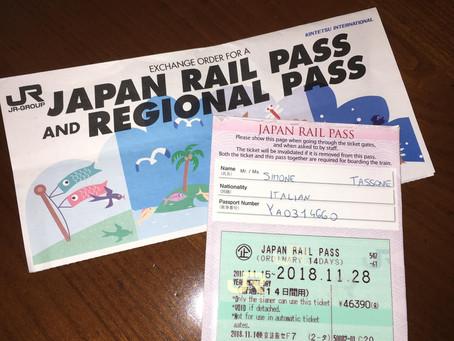 Japan Rail Pass, consigli su acquisto e utilizzo.
