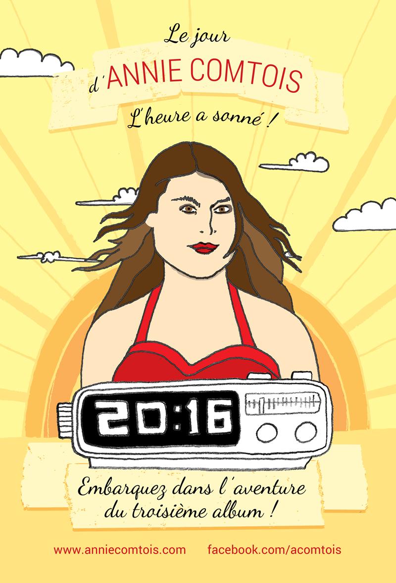 Le jour d'Annie Comtois 2016