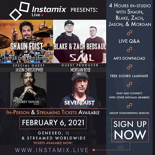Instamix Live w/ Shaun Foist, SAUL, & Friends