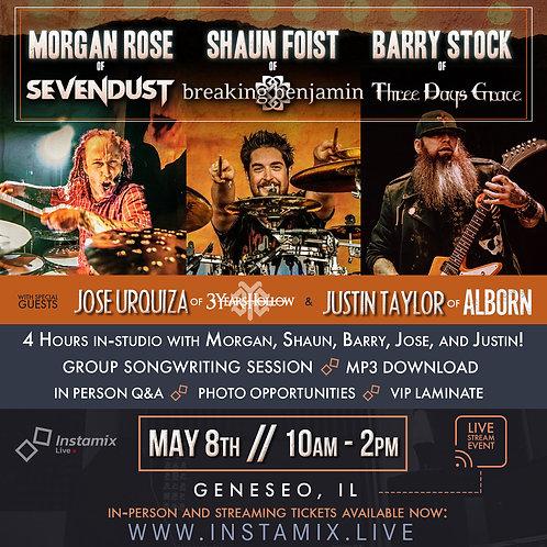 Instamix Live w/ Morgan Rose, Barry Stock, Shaun Foist