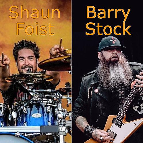 Studio Day w/ Shaun Foist & Barry Stock