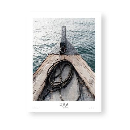 Poster Balance by Akemi