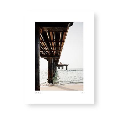Fine Art Print Pier by Celine