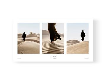 Triptych Silence by Celine Grassy