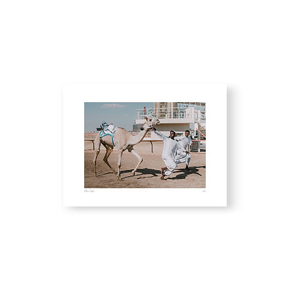 Fine Art Print Racing Boys by Akemi