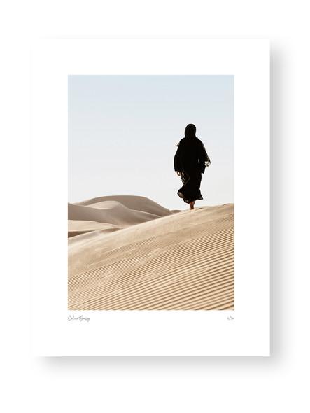 Lady in Dunes by Celine Grassy