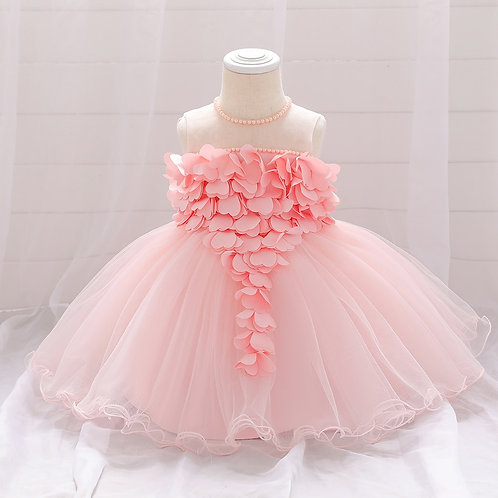 2021 Baby Girl Summer Lace Heart Dresses Baby Girls Princess Dress for Baby Girl