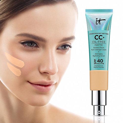 Concealer Cream Matter Oil Control Makeup Base Full  Foundation Dark Circle