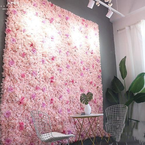 Artificial Rose Flower Wall Wedding Decoration Hydrangea Wedding Decoration