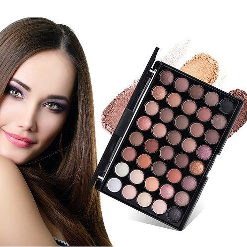 40 Colors Earth Color Eyeshadow Pallete Makeup  Long Lasting Matte Eye Shadow