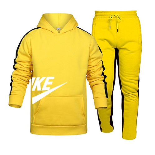 Brand Men's Casual Long-Sleeved Hooded Sports Suit Spring, Autumn