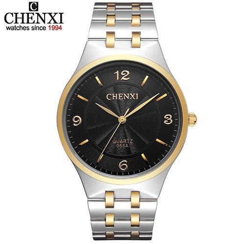 CHENXI Brand Men's Watch Stainless Steel Relojes Hours Clock Female Wristwatch
